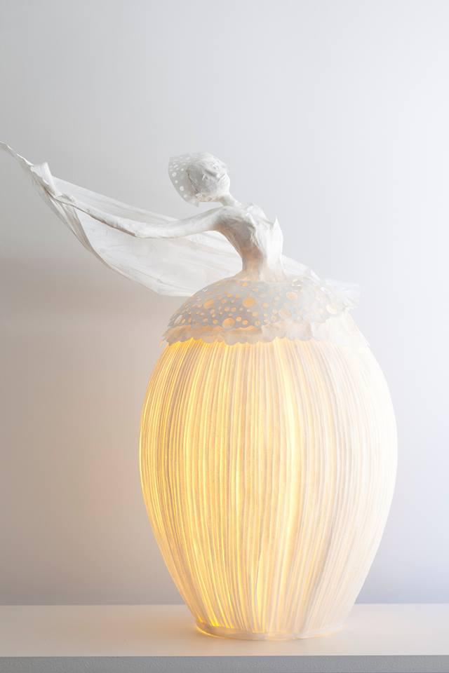 lampy z masy papierowej