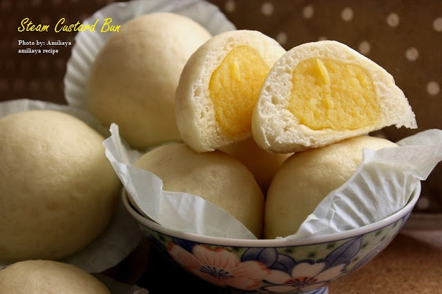 Steam Custard Bun
