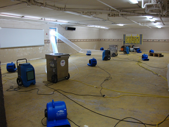 Water Damage Clean Up Service Solutions
