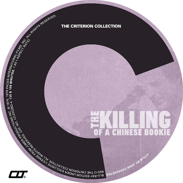 The Killing Of A Chinese Bookie Bluray Label