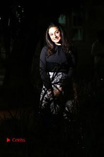 Actress Sonia Agarwal Stills in Black Top at Yevanavan Tamil Movie Audio Launch Event  0013.jpg