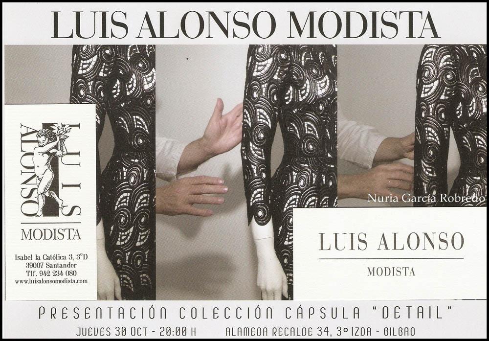 Luis Alonso Modista: Visita a su atelier