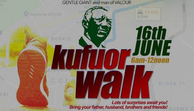 EIB Network To Coordinate Kufuor Foundation Health Walk On June 16