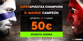888sport champions super apuestas Real Madrid vs Liverpool 26 mayo