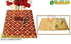 Buku Tamu Batik Set Isi 2