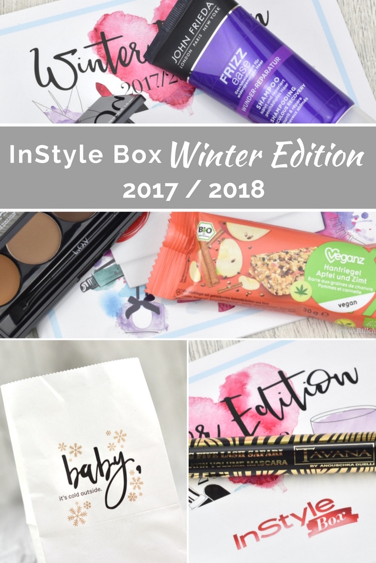 InStyle Box Winter Edition 2017 / 2018 - Unboxing und Inhalt