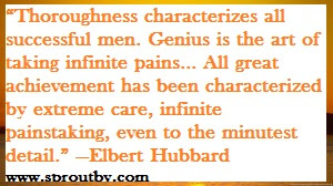 #Self Improvement Quotes #Elbert Hubbard #Character #www.sproutby.com