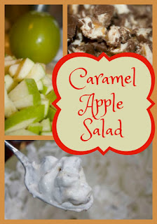 Caramel Apple Salad makes a Wonderful Fall Dessert