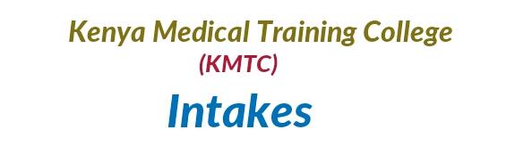 KMTC intakes /Admissions