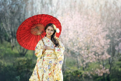 Bathrobe atau Kimono