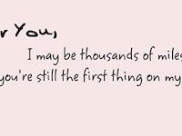 Meski Tak Sering Bertemu, Anehnya Saya Tetap Mencintaimu