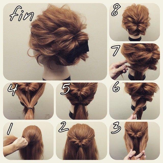 The Easy Way To Bind The Short Hair Beautyhealthtreatmentskin