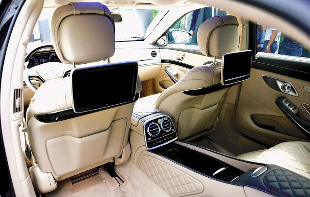Nội thất Mercedes Maybach S500 thiết kế tiện nghi, hiện đại và lịch lãm