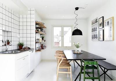 Desain Nordic Kitchen Set