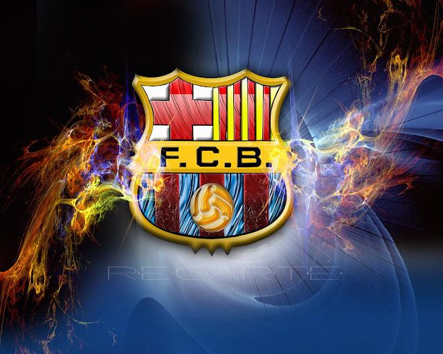 صورشعار فريق برشلونة
