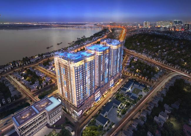 Chun cư Sun Grand City Ancora Residence số 3 Lương Yên