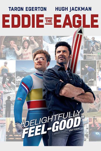 Poster of Eddie The Eagle 2016 720p Hindi BRRip Dual Audio Full Movie Download