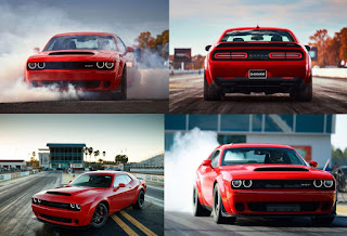 2018 Dodge Unleashes Hell Demon