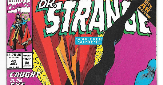 Comic Cover of the Day: Doctor Strange No.43 Published by Marvel 1992
