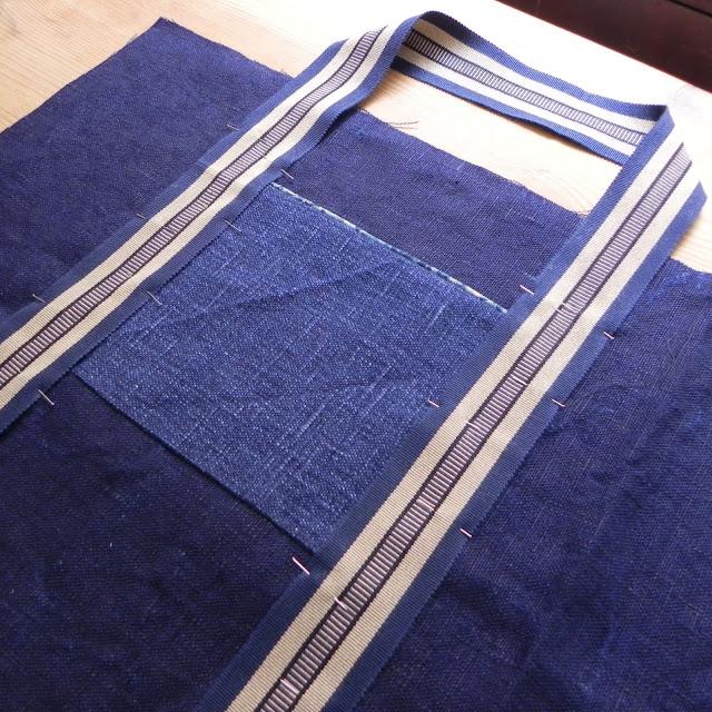 how to sew a barrel bag
