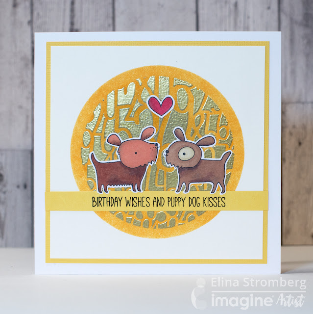 Cardmaking: Birthday Wishes and Puppy Dog Kisses