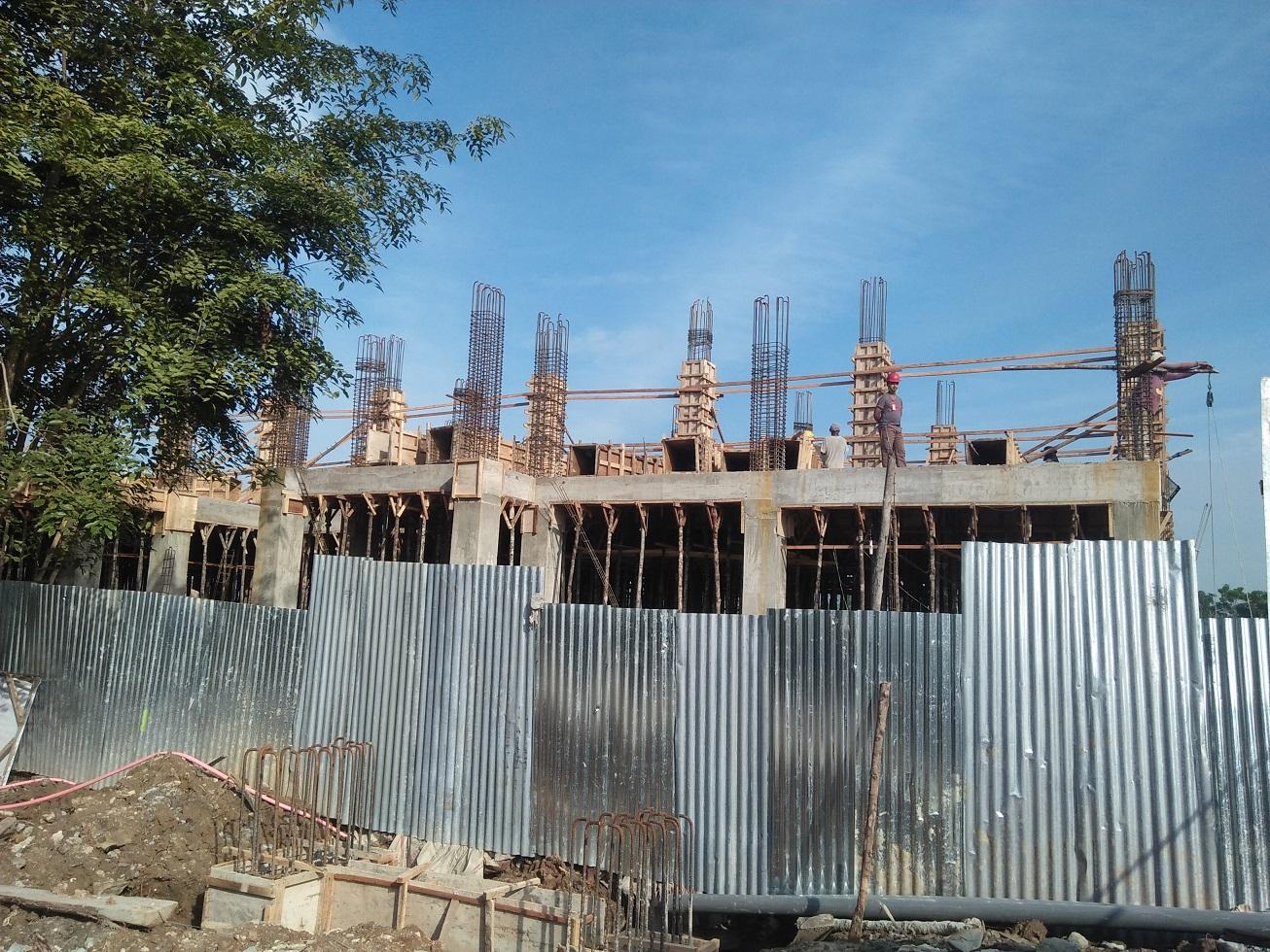 pembangunan Gedung Kantor Bappeda Kota Tanjungbalai