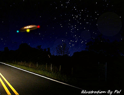 UFO Appeared to Land in Field