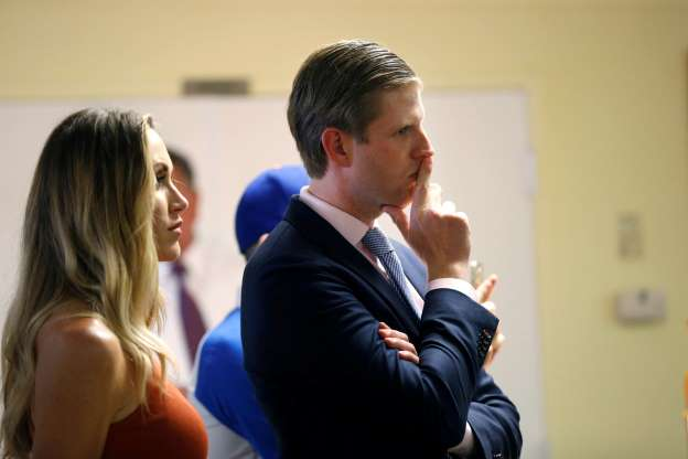 President Trump's son Eric to become father