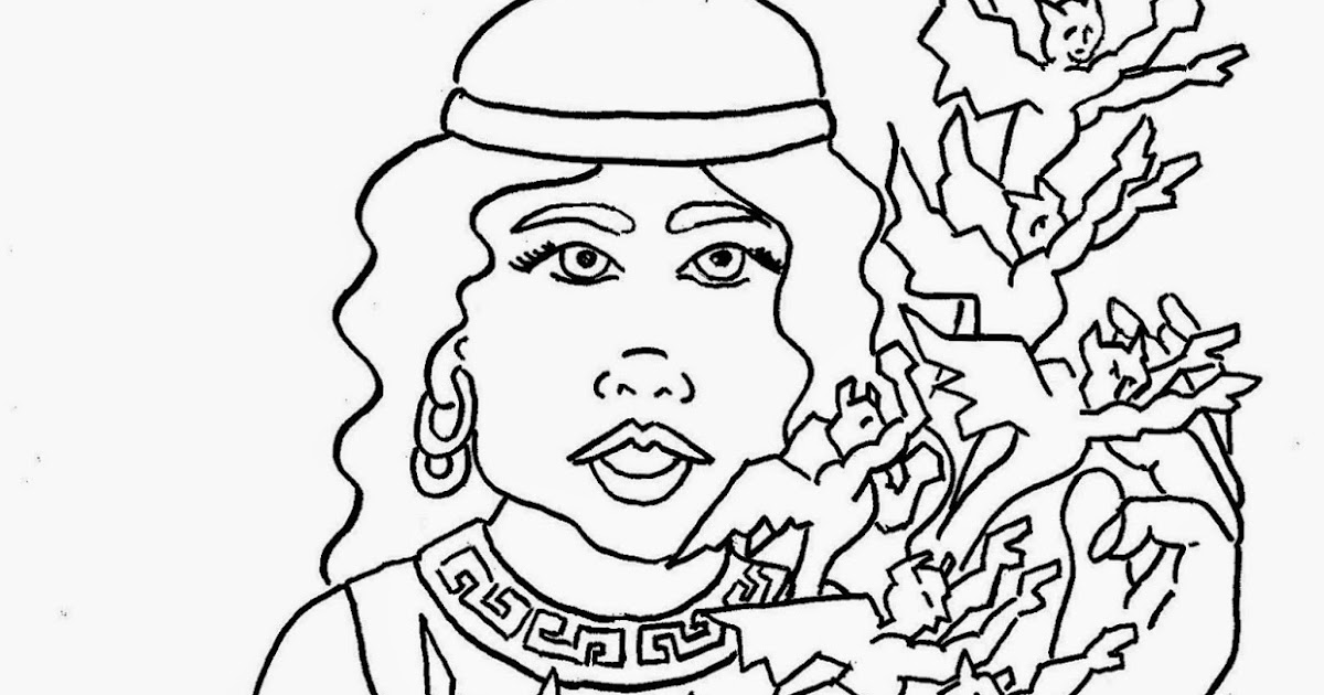 Coloring Pages for Kids by Mr. Adron: Greek Myth, Pandora