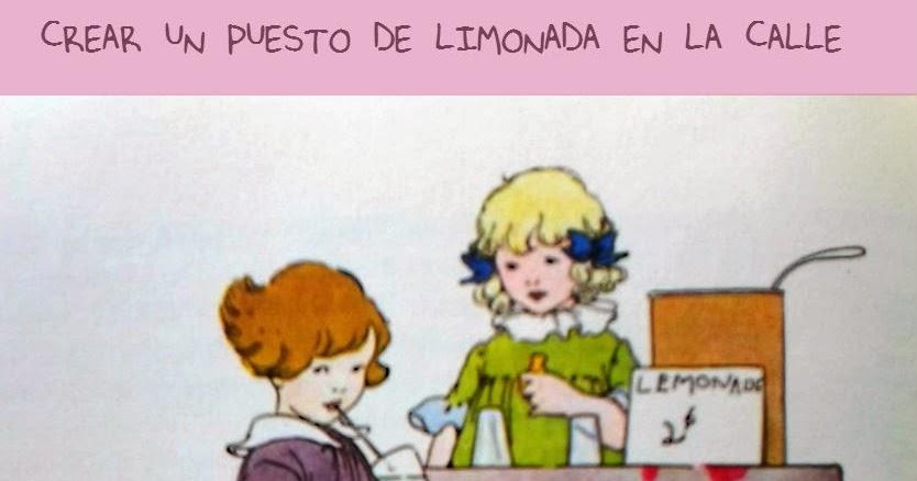 Hacer Un Puesto Para Vender Limonada Con Niños En La Calle