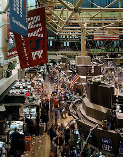 البورصة سوق حقيقي و له مكان في الواقع و ليس في الخيال