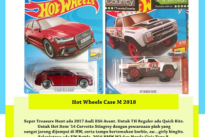 Hot Wheels Case M 2018