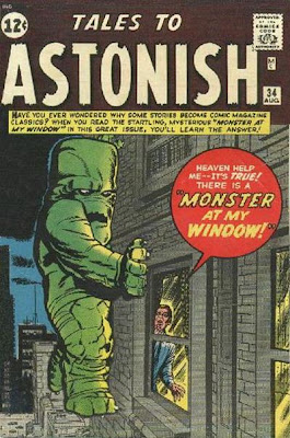 Tales to Astonish, the monster at my window