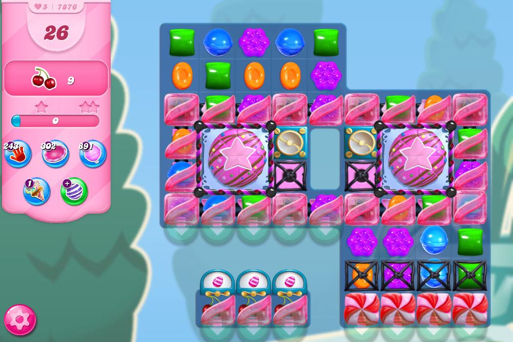Candy Crush Saga level 7876