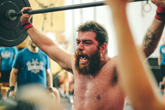 crossfit snatches clean press overhead presses frugal fitness workout