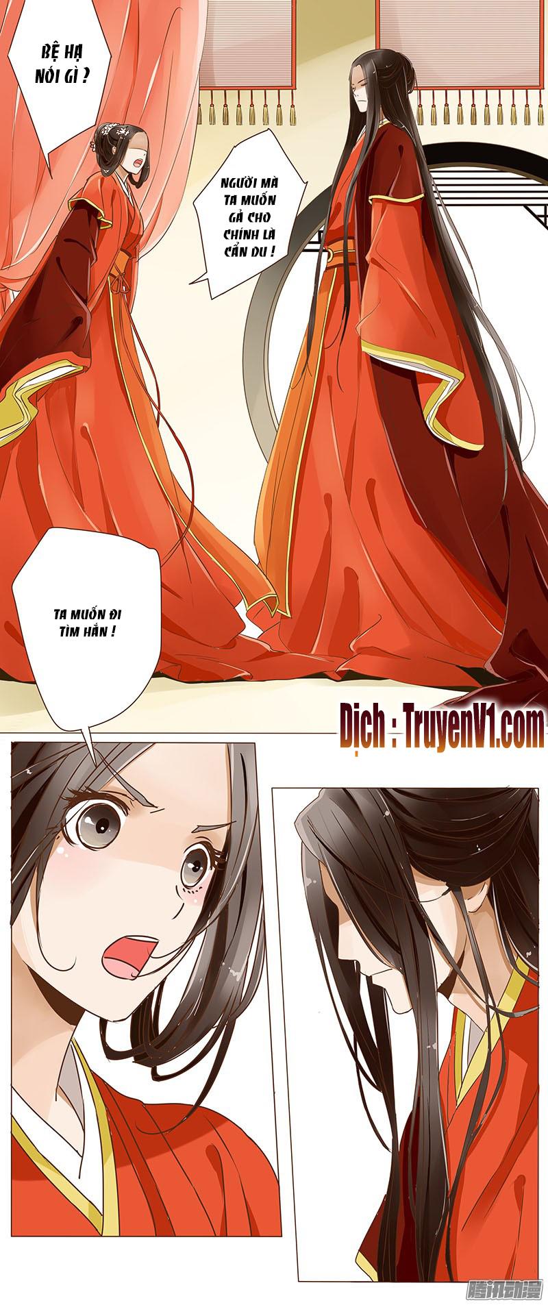Đế Vương Trắc Chap 1 page 9 - Truyentranhaz.net