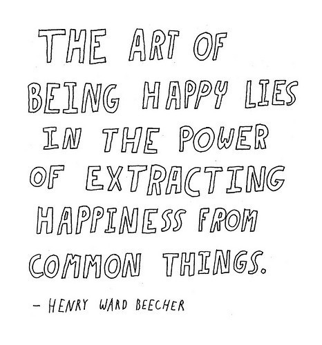 the art of being happy quote