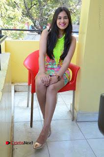 Telugu Actress Prasanna Stills in Short Dress at Inkenti Nuvve Cheppu Press Meet Stills  0175.JPG