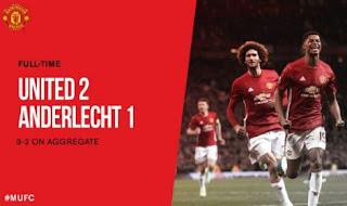Manchester United vs Anderlecht 2-1 Video Goals & Highlights