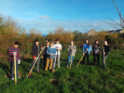 St Ives Community Orchard - Young Volunteers