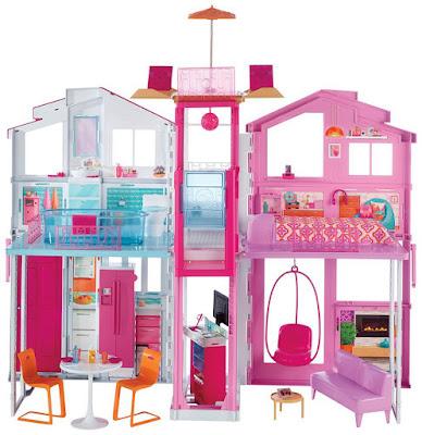 JUGUETES - BARBIE - Supercasa   Casa Producto Oficial 2016   Mattel DLY32   A partir de 3 años Comprar en Amazon España
