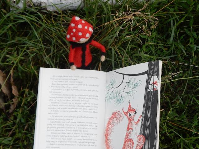 książka dla dzieci, wiewiórka