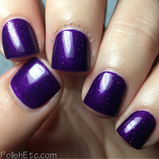 KBShimmer - Winter 2016 Collection - McPolish - Just Duvet It