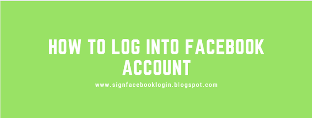How To Log Into Facebook Account