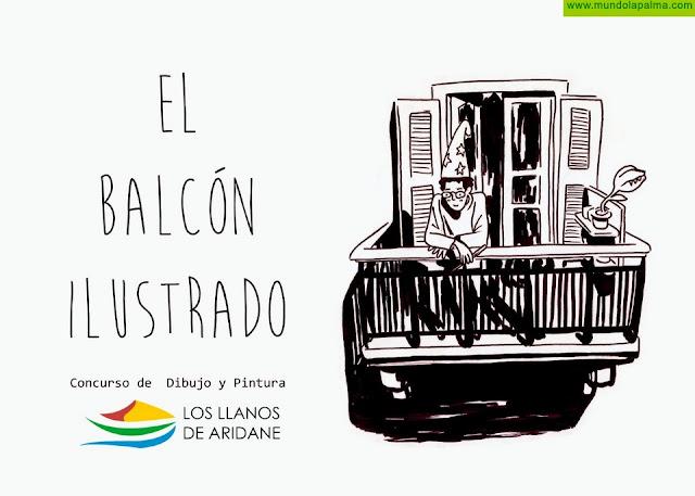 El Ayuntamiento de Los Llanos de Aridane convoca el concurso de dibujo y pintura #ElBalcónIlustrado para el alumnado de 6 a 16 años