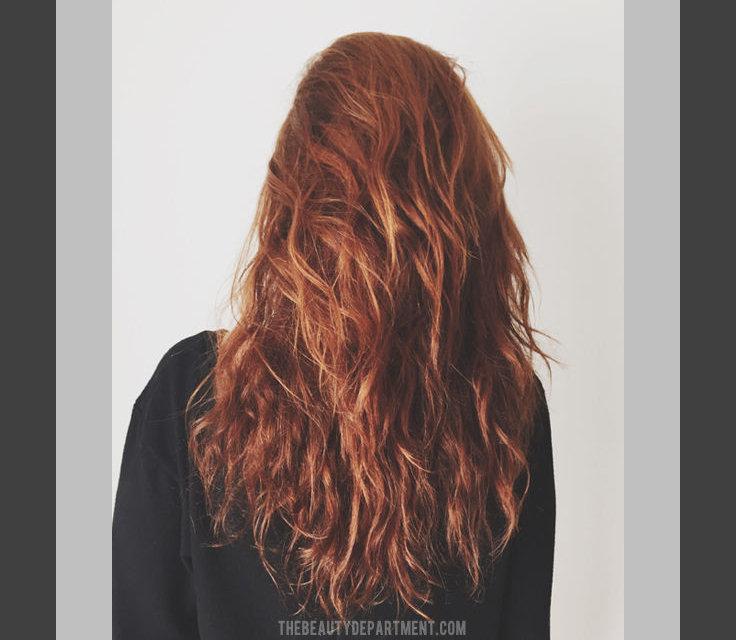 air dry hair for better curls