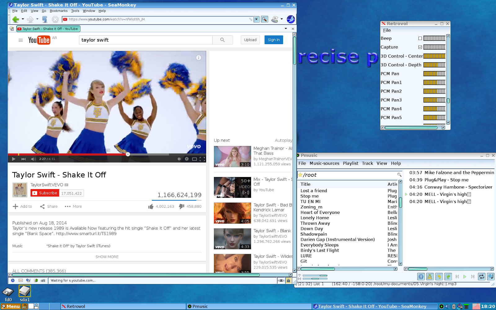 puppy linux seamonkey download browser