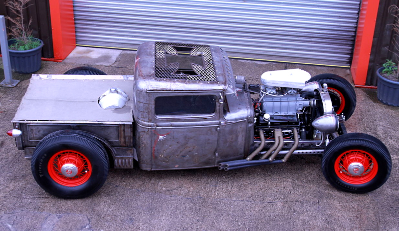 Rat Rod Clear Coat 1953 Gmc Rat Rod Bare Metal Truck