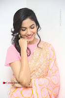 Actress Ritu Varma Pos in Beautiful Pink Anarkali Dress at at Keshava Movie Interview .COM 0348.JPG
