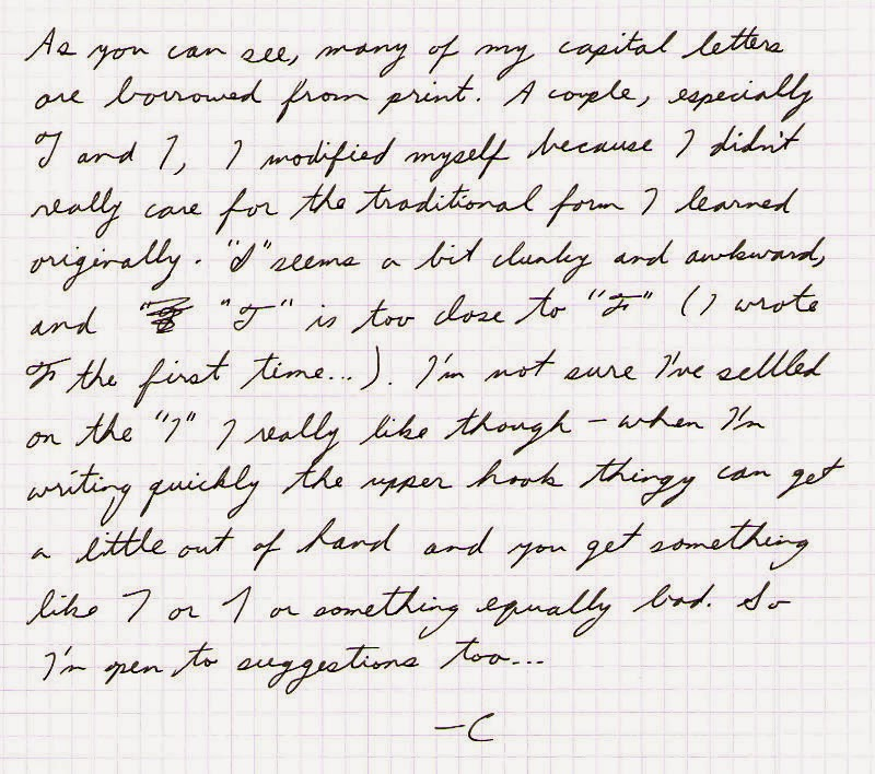 Alphabet Cursive Handwriting | Hand Writing